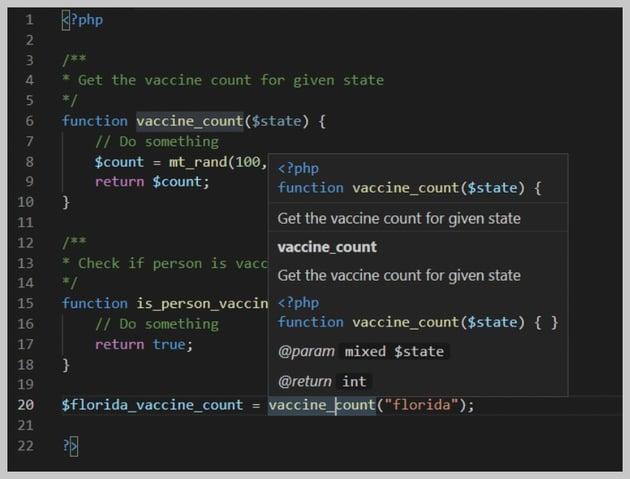 VSCode User Comments