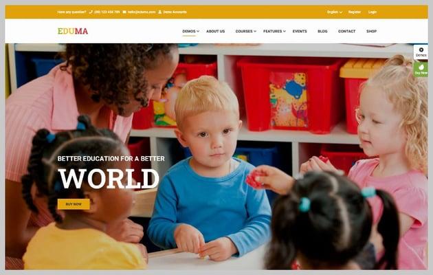 Eduma Kindergarten Demo