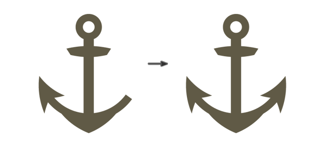 creating the anchor 6