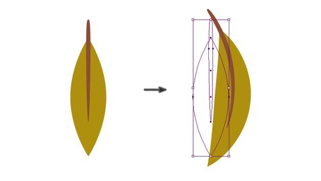 warping the leaf