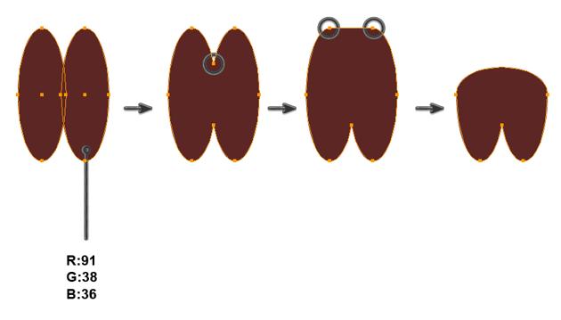creating the hoof