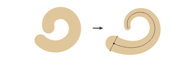 creating the tail