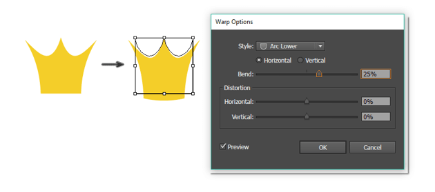 creating the crown 2