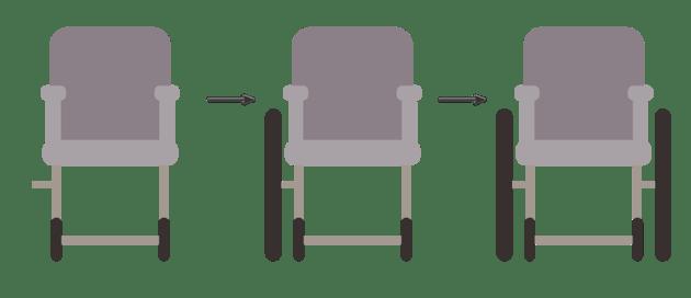 creating the wheelchair 3
