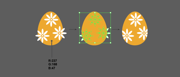 how to crop the decoration