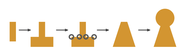 how to create the keyhole