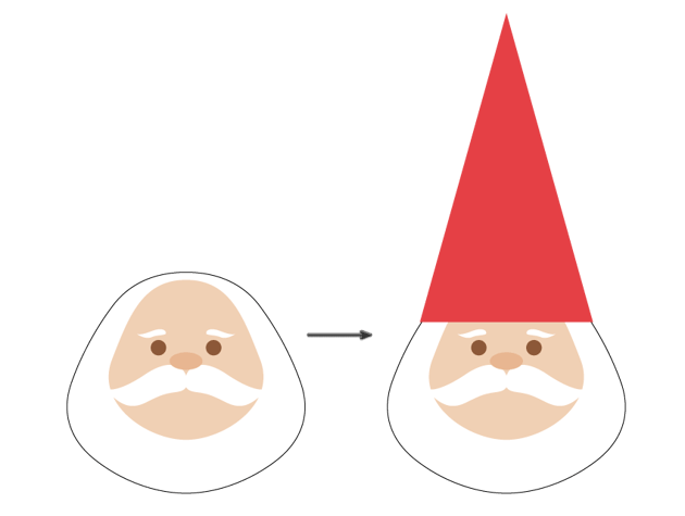 how to create the bird and gnomes cap