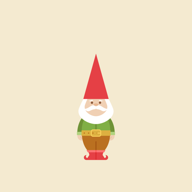 how to place the gnome on the background