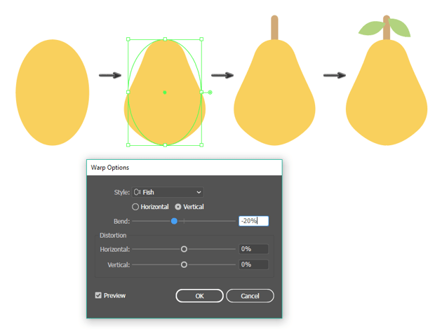 how to create the pear