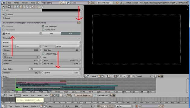 The Video Editor screen 2
