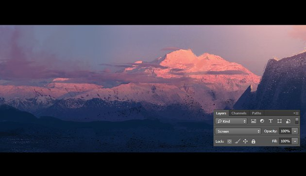 Creating a light layer