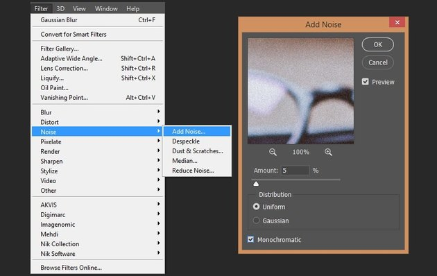 Adding noise to the smart object