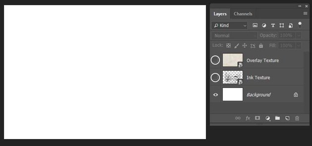 dragging the textures inside the document