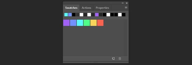 creating swatches