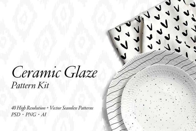 Ceramic Glaze Pattern Kit