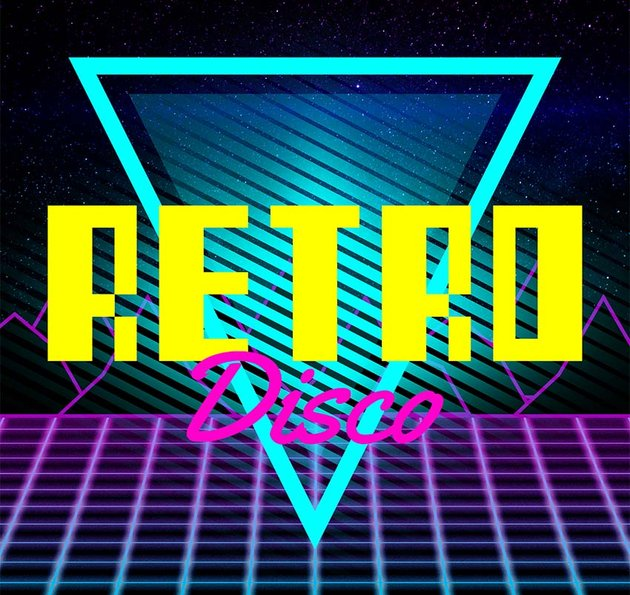 Retro disco design creator