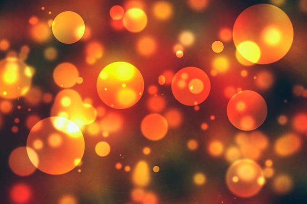 bokeh background with soft texture applied