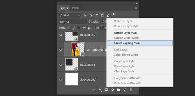 creating a clipping mask