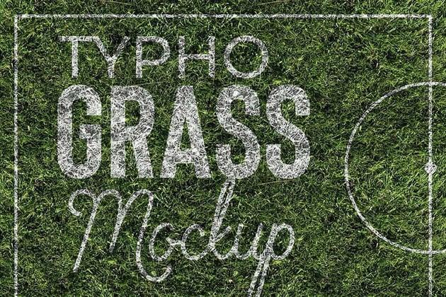Grass Mock Up
