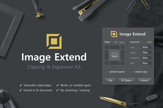 Image Extend - Clipping and Expansion Kit