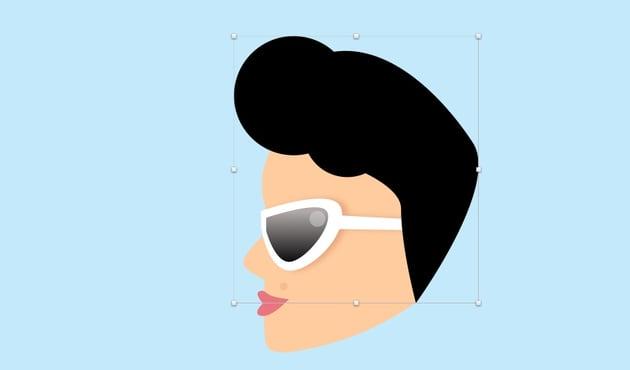 Girl - create hair