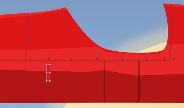 Create side vents - basic shape