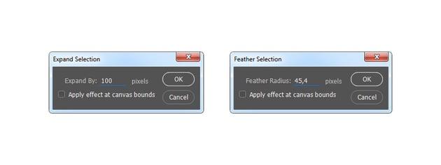 Modifying the selection
