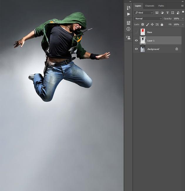 Creating new layer via copy