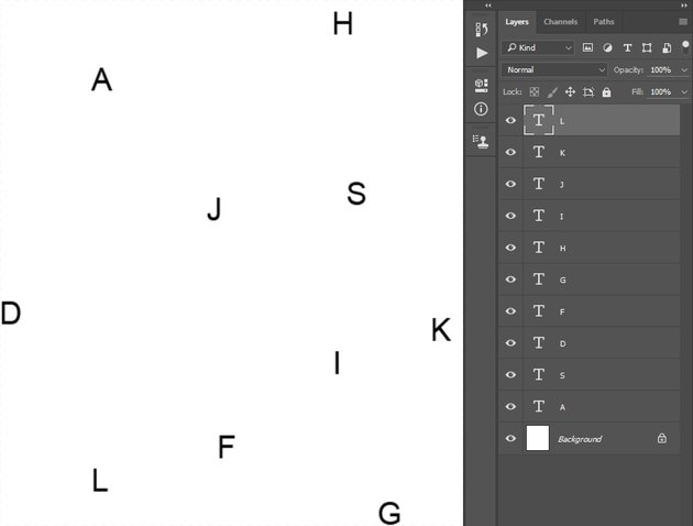 Creating typography pattern 1