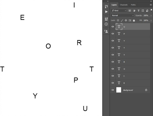 Creating typography pattern 3