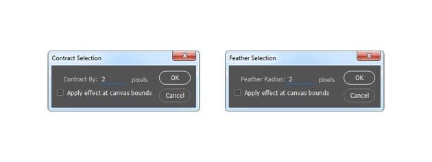 Modifying selection