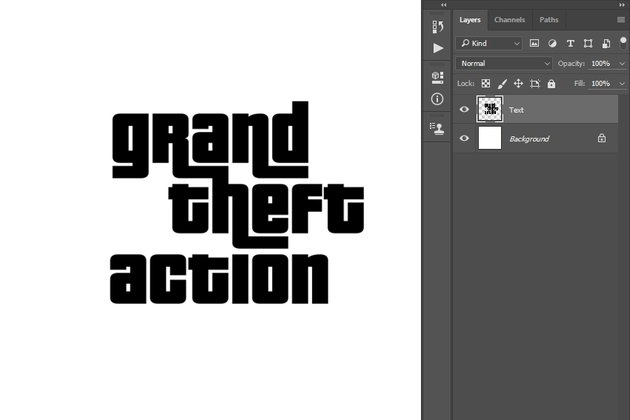 Merging text layers