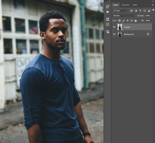 Creating new layer using selection