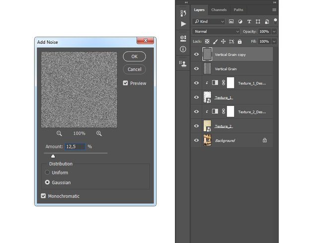 Adding add noise filter