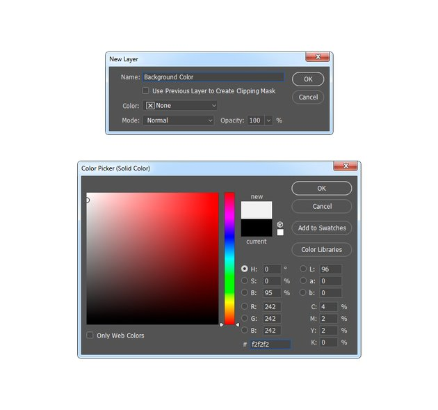 creating new fill layer