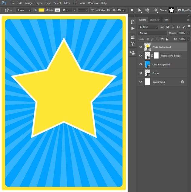 creating custom shape