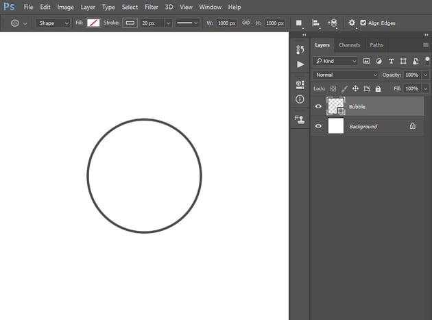 creating ellipse