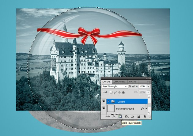 Add Layer Mask to Group in Photoshop