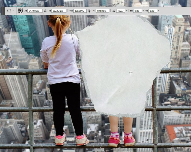 Rotate Layer in Photoshop