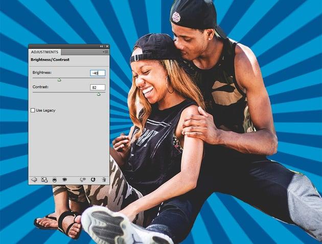 BrightnessContrast Photoshop Adjustment