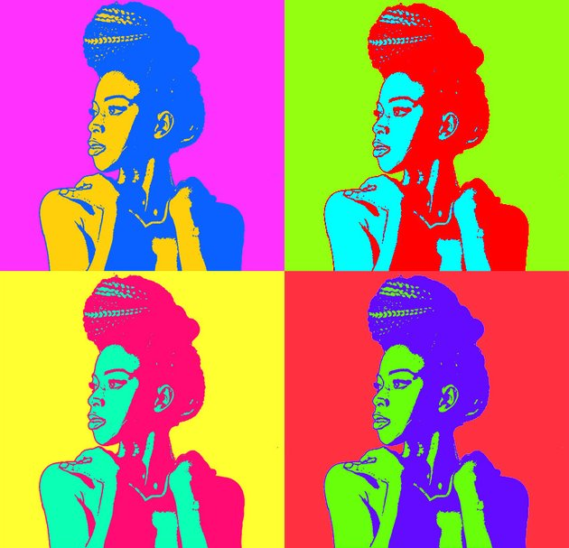 Create a Warhol Poster in Photoshop