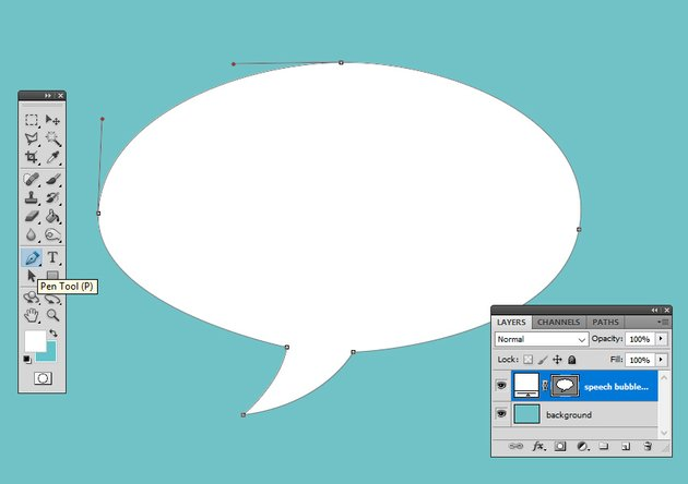 Draw a Vector Shape in Photoshop Using the Pen Tool