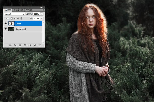 Create a Ghost in Photoshop