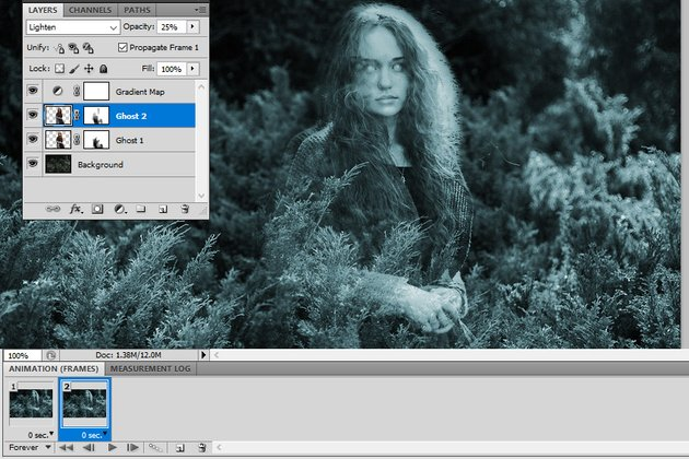 Move Layer in Photoshop
