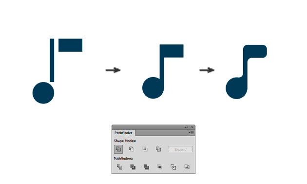 Creating a musical notes for the background
