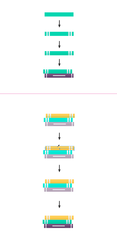 Duplicating the book twice