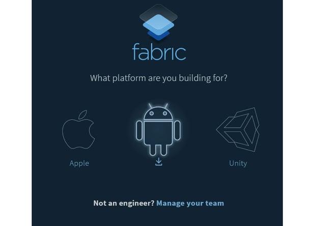 Select platform to install