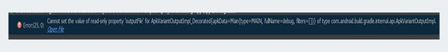 Android Studio logcat error