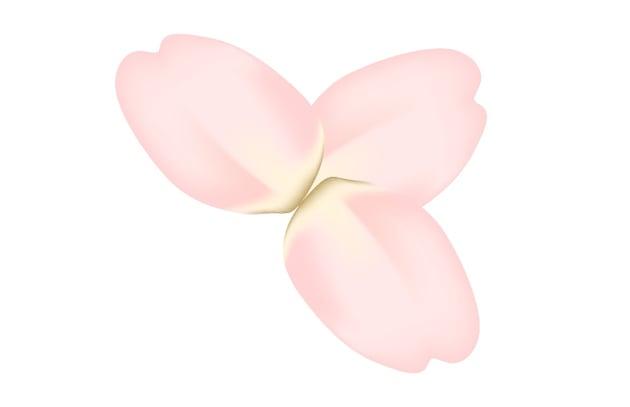 arrange three petals