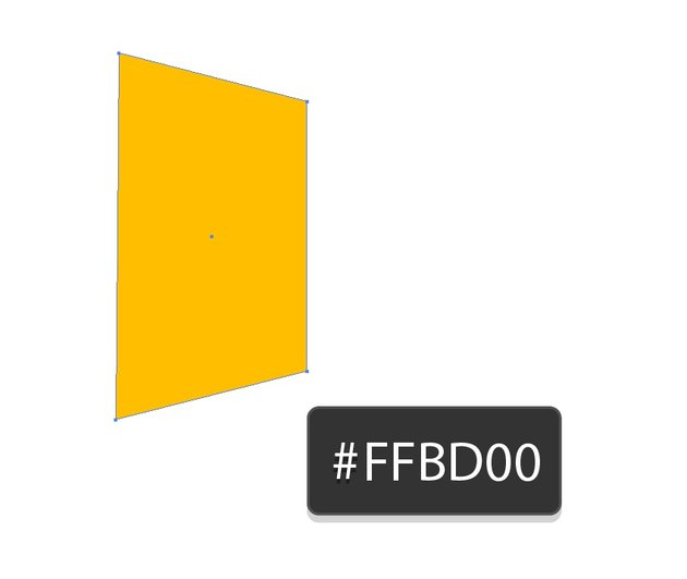 yellow rectangle the right side is shorter
